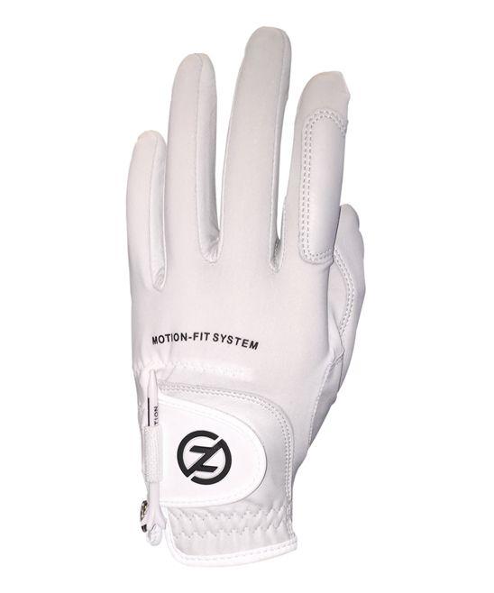 White Johnny Miller Motion-Fit Left-Hand Golf Glove - Men