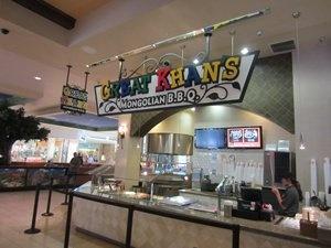 Great Khans Mongolian BBQ, Oaks Mall
