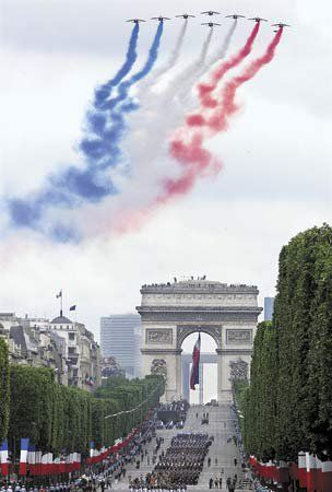 French national holiday, Bastille Day, 14 July 1789, marked the beginning of the French Revolution