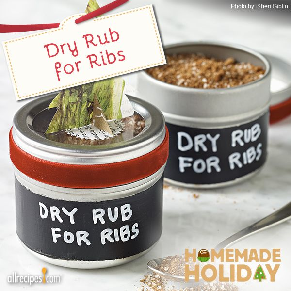 """Dry Rub for Ribs 