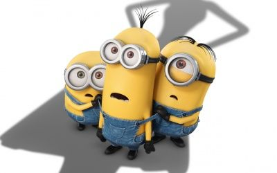 HD Stuart Bob and Kevin Minions in 2015 Best Animated Film Minions Wallpaper images 1080p photos pics