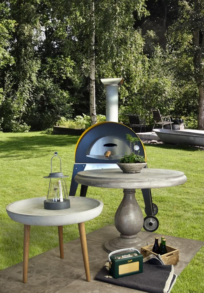 Enkel och smidig vedugn. Passar för  för din trädgård, altan eller terrass.   #vedugn  #enkel #smidig #uteplats
