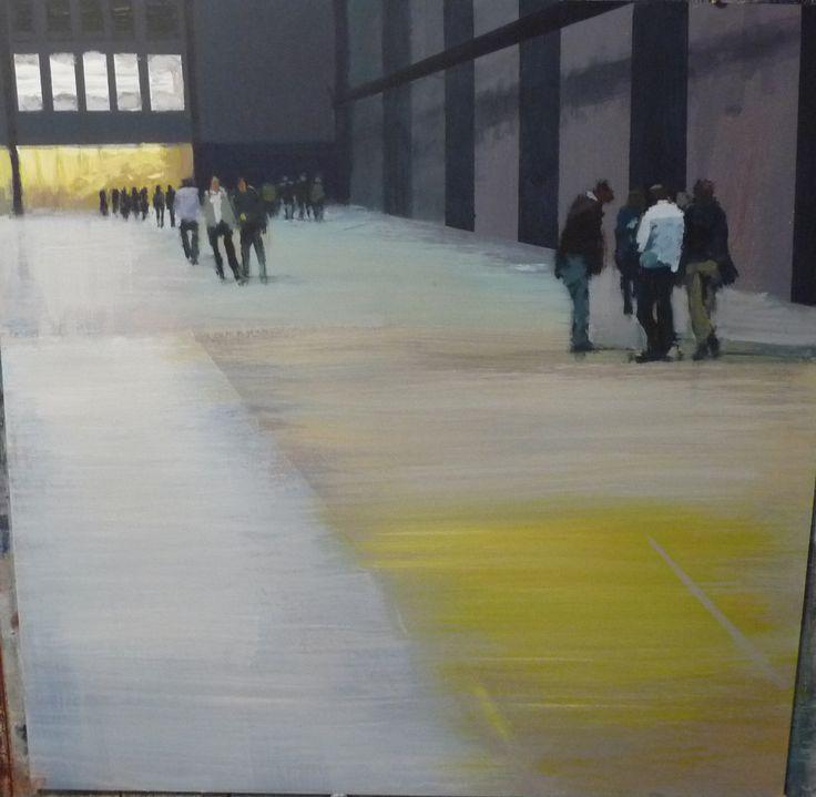 Philip Tyler Wispers Acrylic on Board 62 x 62cm http://www.highgateart.com/ http://www.northcotegallery.com/ http://www.zimmerstewart.co.uk/