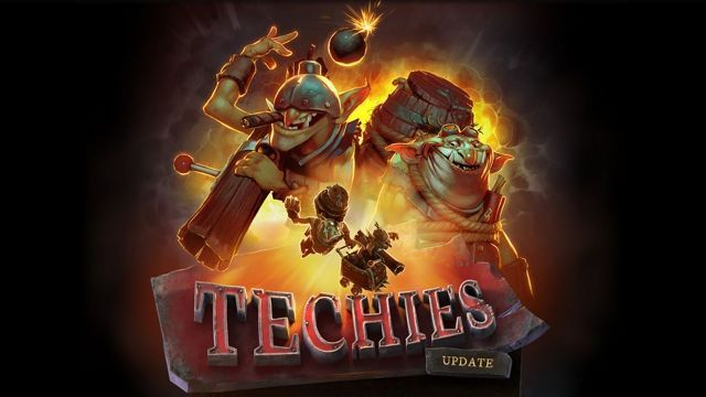Dota 2's Techies have arrived