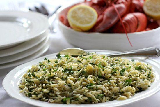 Salade d'Orzo aux Fines Herbes et au Citron