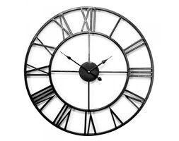 Zegar Old Style - 60 cm - czarny