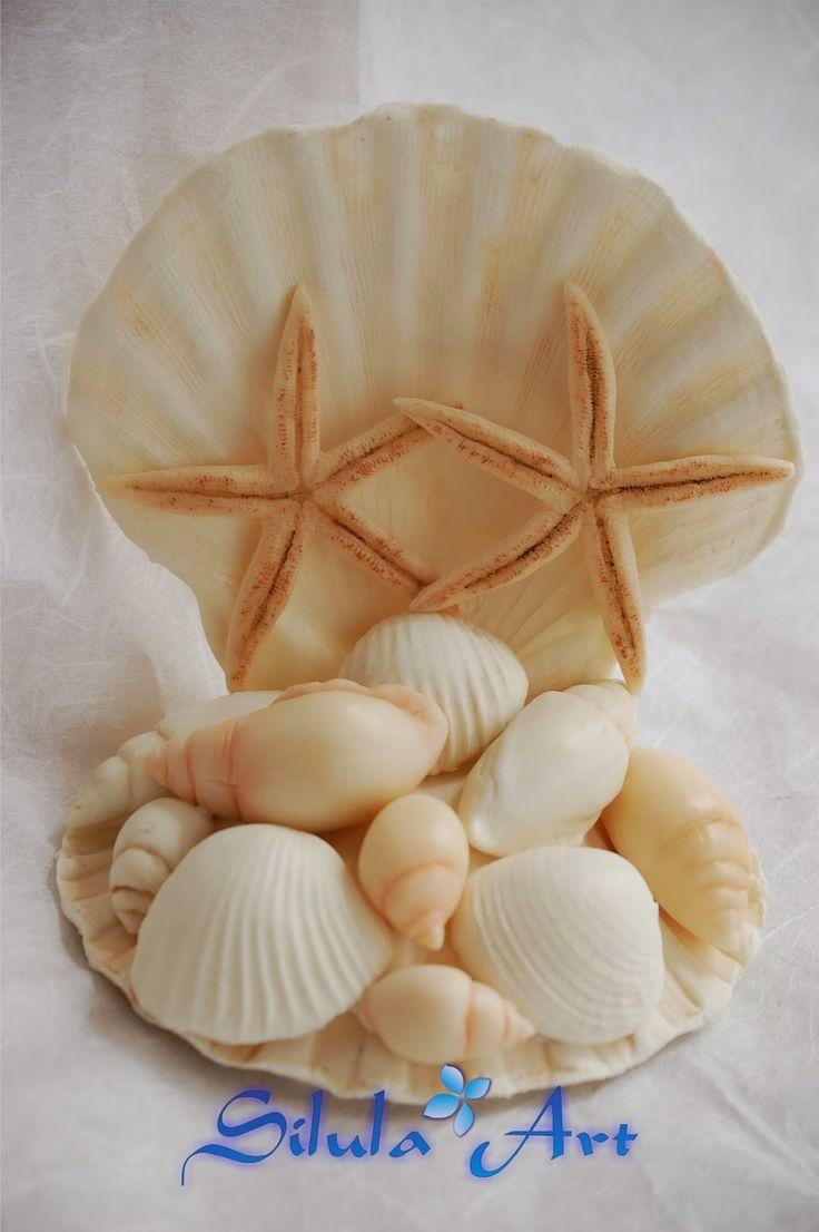 Silula Art: Cake topper - Matrimonio in stile marino
