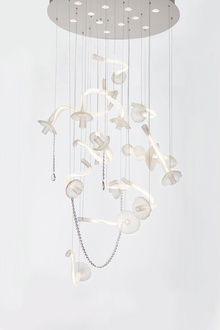 10 best levi levitation art chandelier images on pinterest levi is the new project art chandelier the diferent parts of chandelier are flying around arubaitofo Images