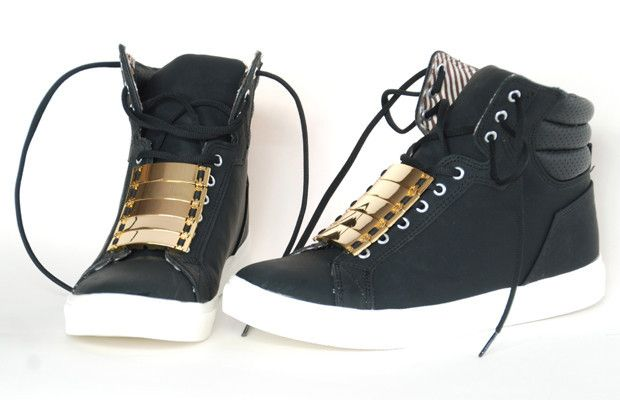 Xanteshoes Hightop026 FaceupGold