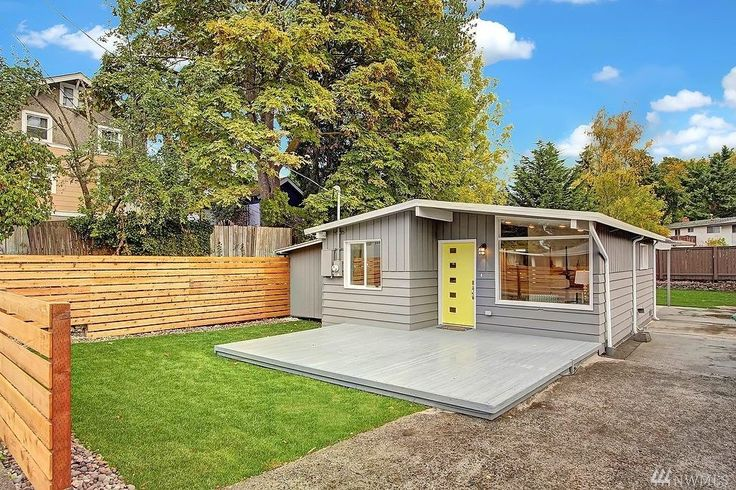 Seattle Modern: A 700 square feet home originally built in 1959 and completely remodeled throughout   pinned by haw-creek.com