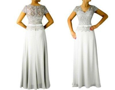 INES ATELIER - Sukienka CARYCA Grey - (42-54)
