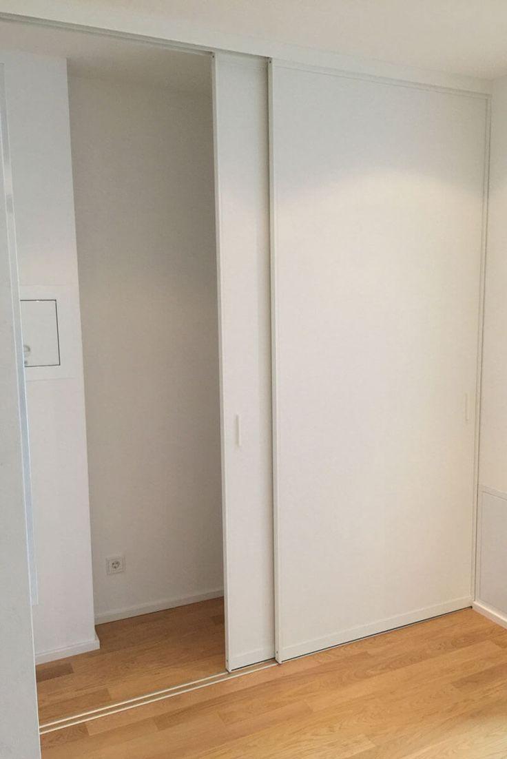 Nischen Schrank Schiebetueren Flur Treppenhaus Hol Flur Hol