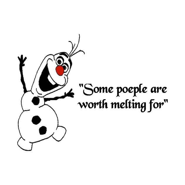 Check out this awesome 'Olaf+Frozen+Some+People+Are+WORTH+MELTING+FORug' design on @TeePublic!
