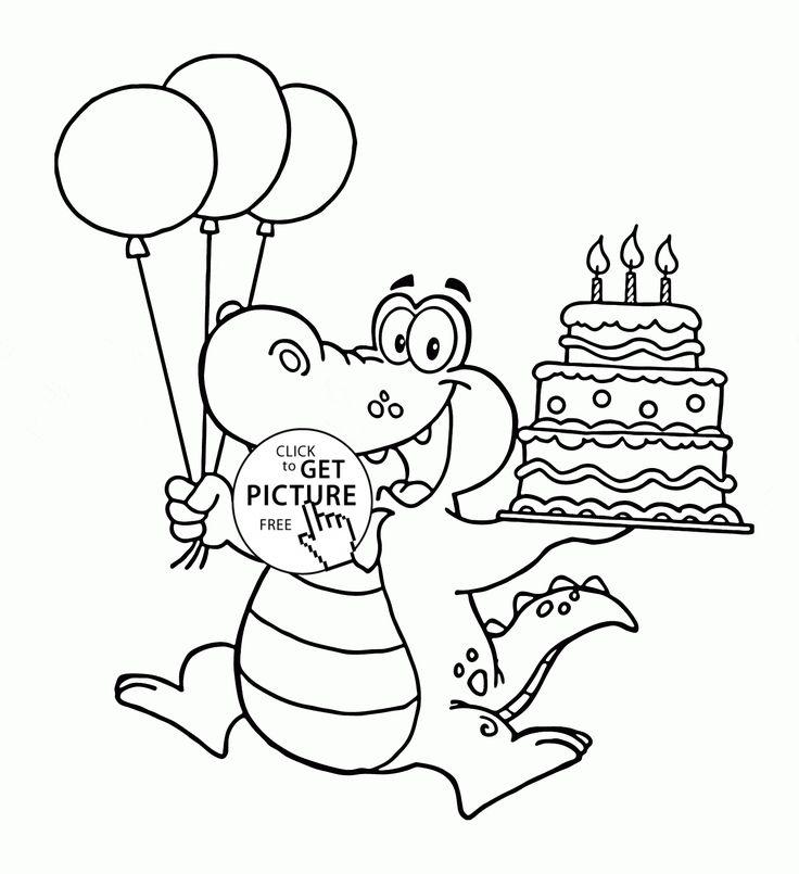 150 besten Birthday coloring pages Bilder auf Pinterest ...
