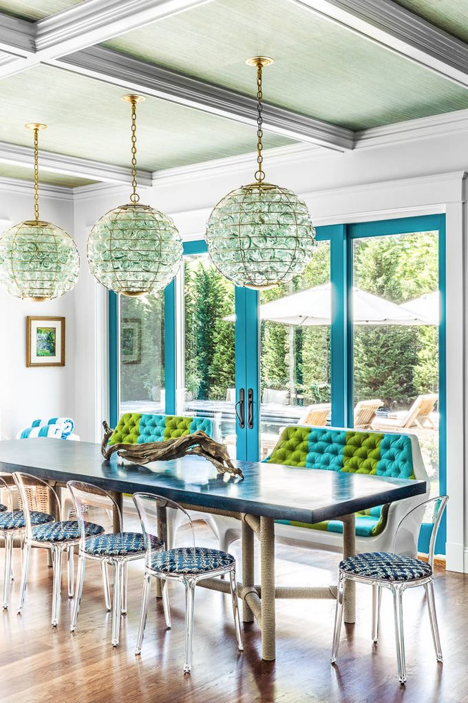 Coastal Dining Room Evolve Residential Dining Rooms