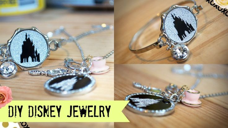 DIY Disney Jewelry you CAN SELL with the Cricut