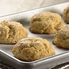 Ancient grain biscuit  King Arthur recipe --make low FODMAP by using lactaid milk vs. buttermilk.  Can add 1 TB vinegar to milk to create a buttermilk flavor.