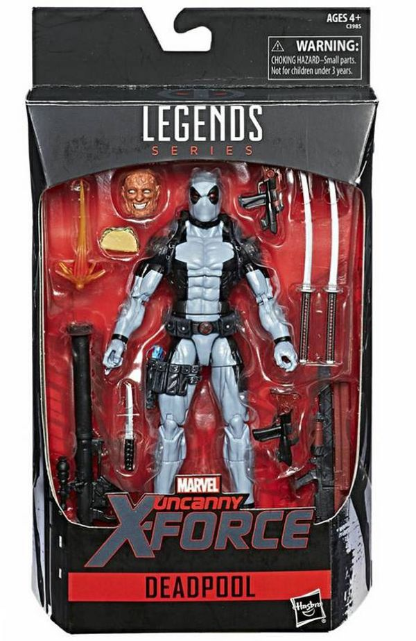 "Updated 2017 Convention Exclusive 6"" #Marvel Legends X-Force Deadpool FIgure Images #Marvel"