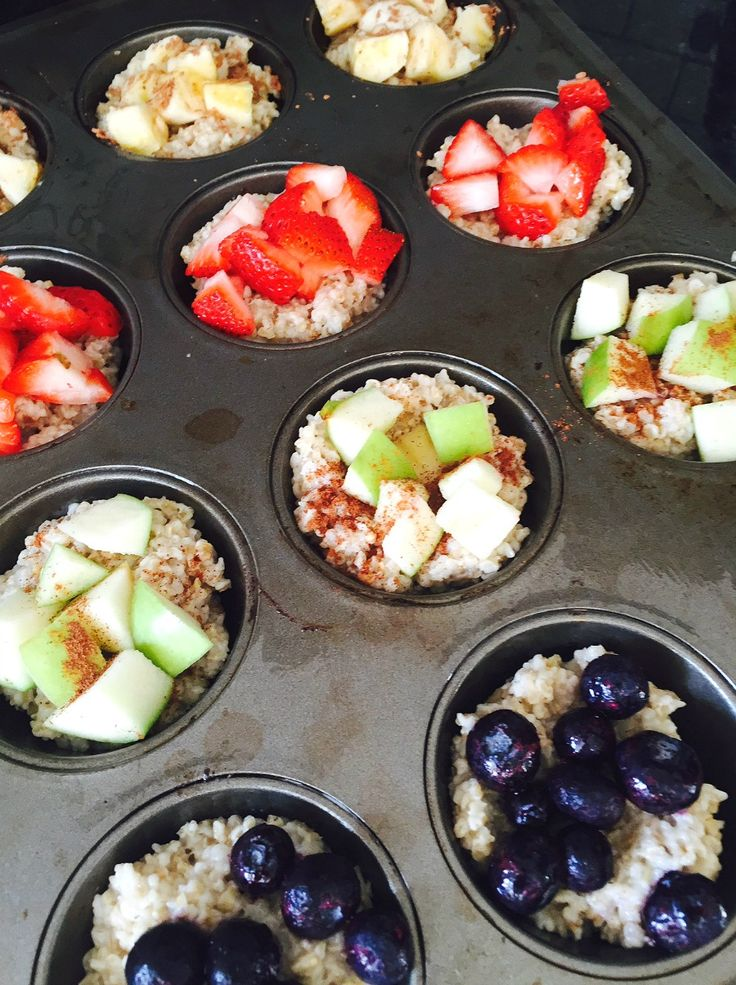 Food Prep - 21 day fix Steel Cut Oat Cups
