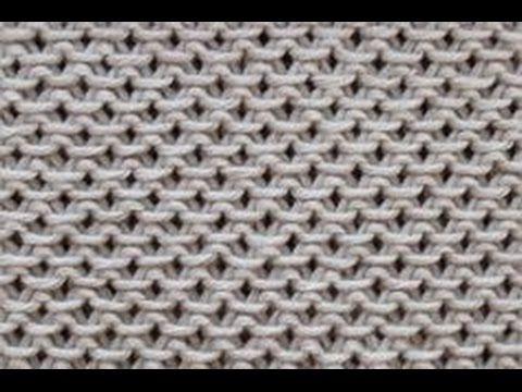 Strickmuster * Ein sehr schoenes und einfaches Strickmuster - YouTube