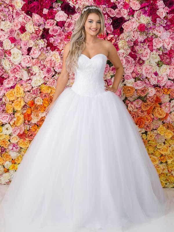 Allure Debutante Gown G221