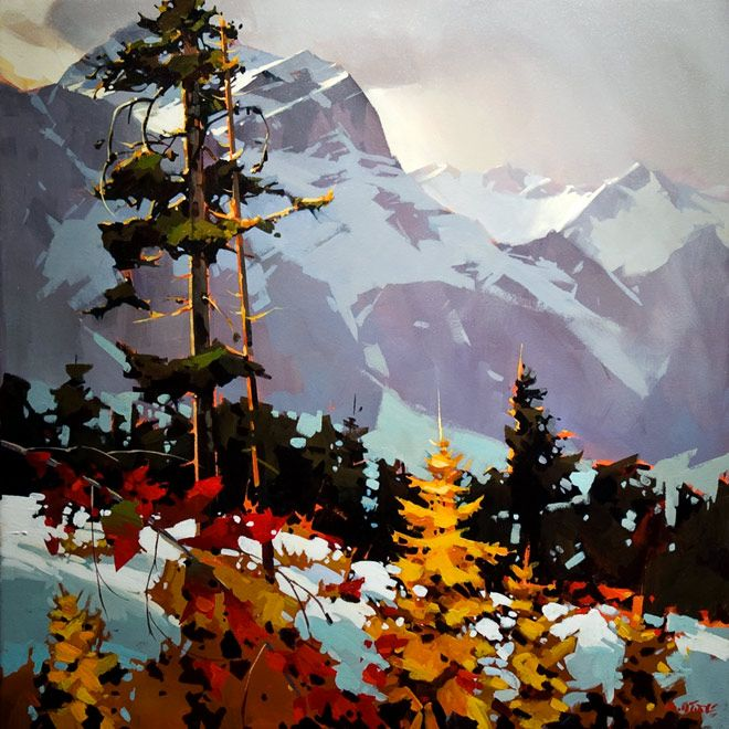 Colours Along the Columbia Icefield Parkway, by Michael O'Toole