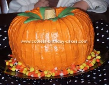 How Do You Make A Pumpkin Shaped Cake