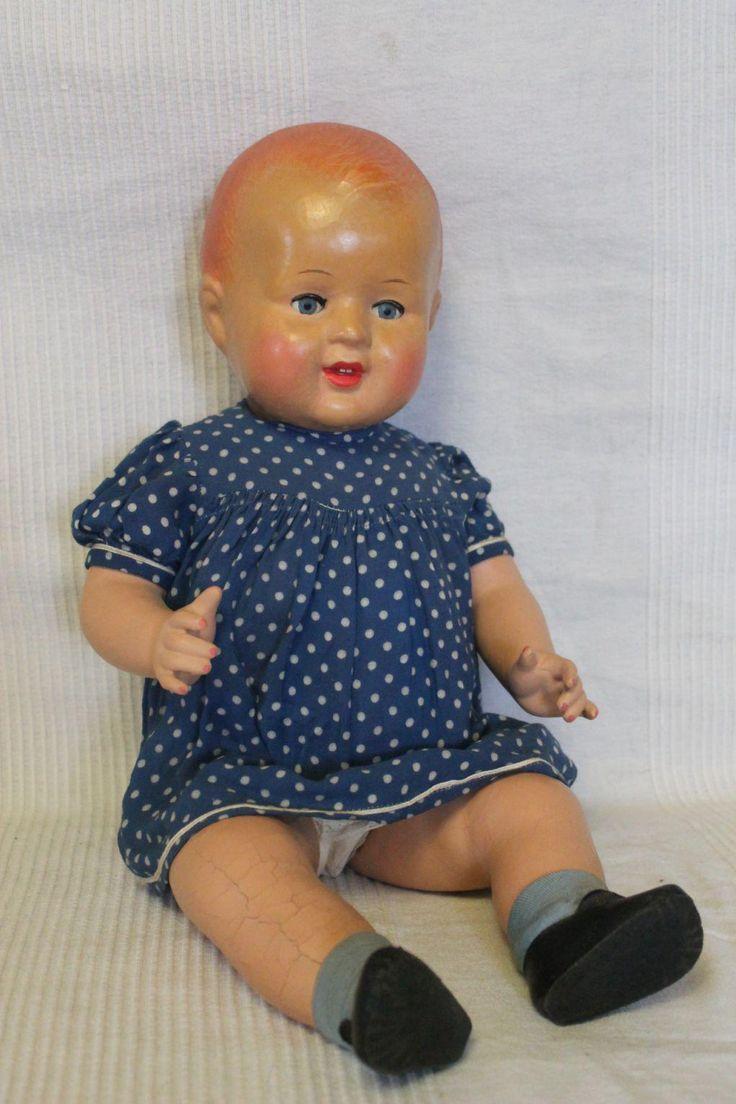 Антикварная кукла -СССР