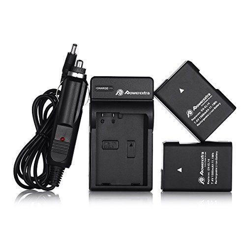 2 PC Nikon Battery 1500 mAh for Nikon D3100 D3200 D3300 D3400 D5100 D7100 DSLR #Powerextra