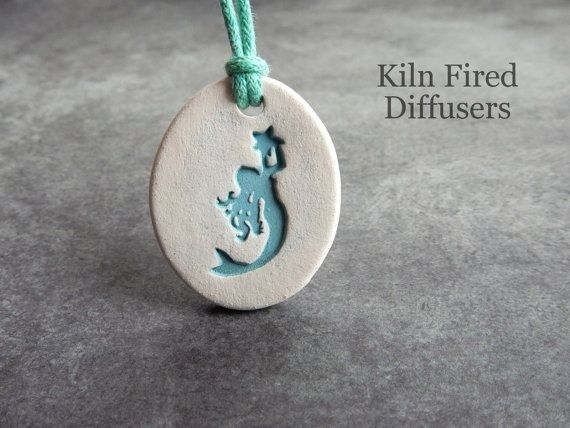 Teal Mermaid Aromatherapy Essential Oil by KilnFiredDiffusers