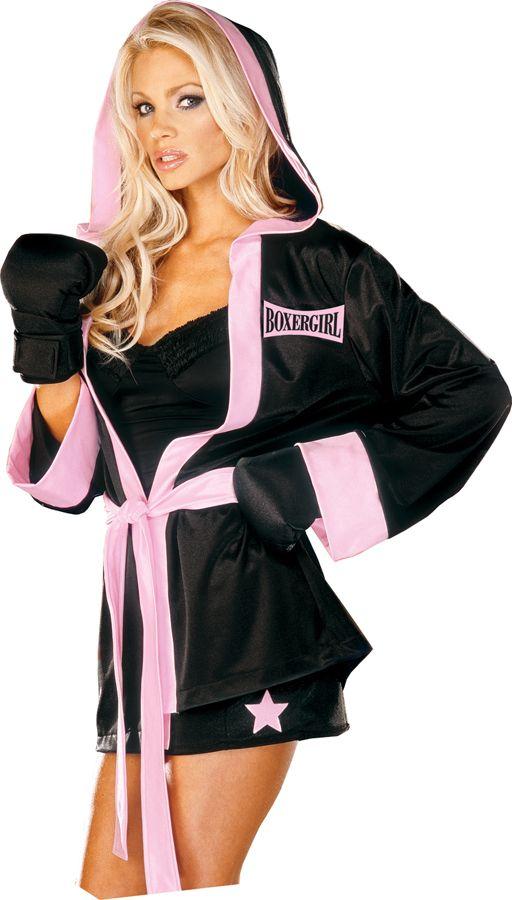 Women's Boxer Girl Costume