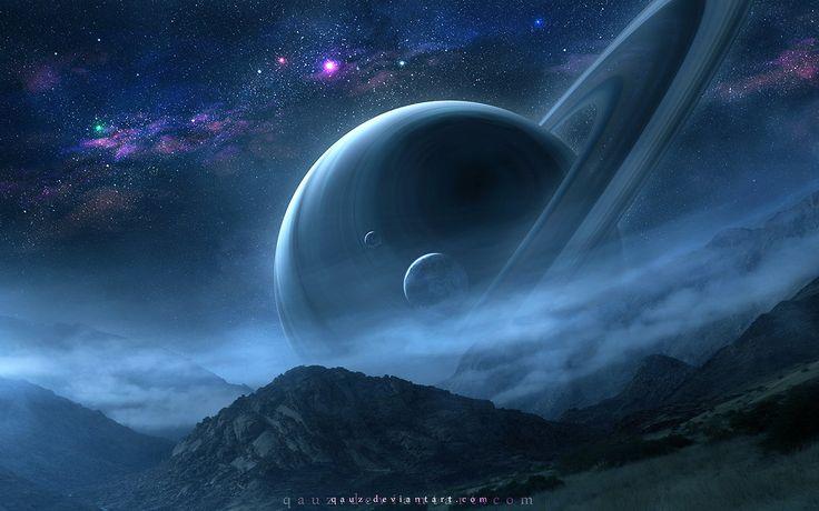 土星由QAuZ夜景