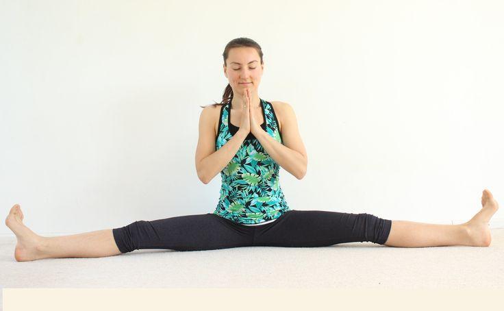 Виньяса йога: самаконасана/поперечный шпагат 60 мин