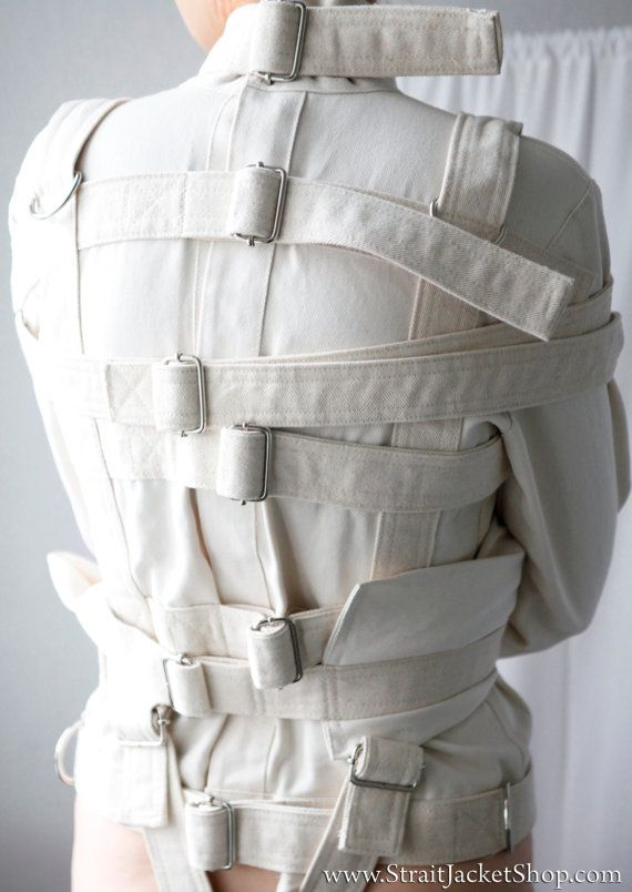 Straitjacket  Restraining Bondage Straitjacket for Asylum
