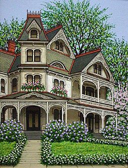 2374 best images about victorian exterior on pinterest for Custom victorian homes