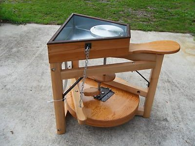 Feito à mão Leach Pedal Roda (Simon Leach cerâmica) | Artesanato, Esculturas, modelagem e cerâmicas, Cerâmica e olaria | eBay!
