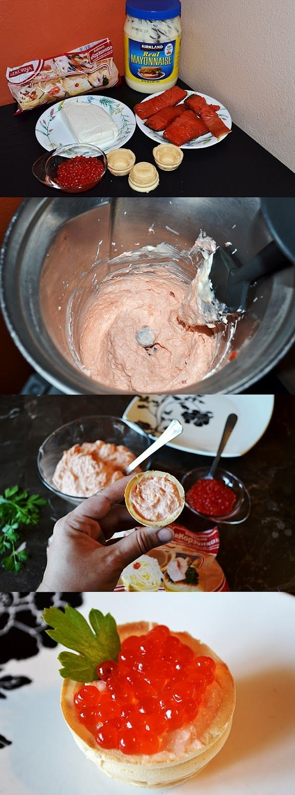 Leas Cooking: Smoked Salmon with Caviar Appetizer