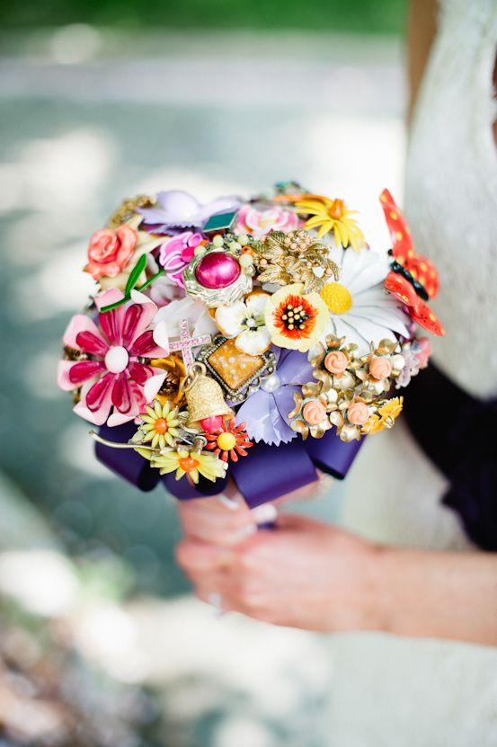 interesting bouquetBeach Wedding