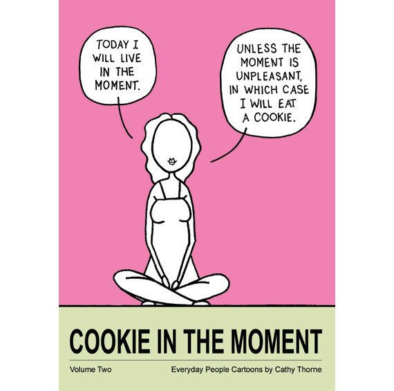 Cookie in the Moment Book by CathyThorne on Etsy