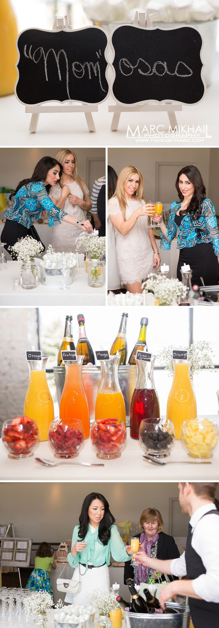 Adoption Benefit-champagne at the baby shower!