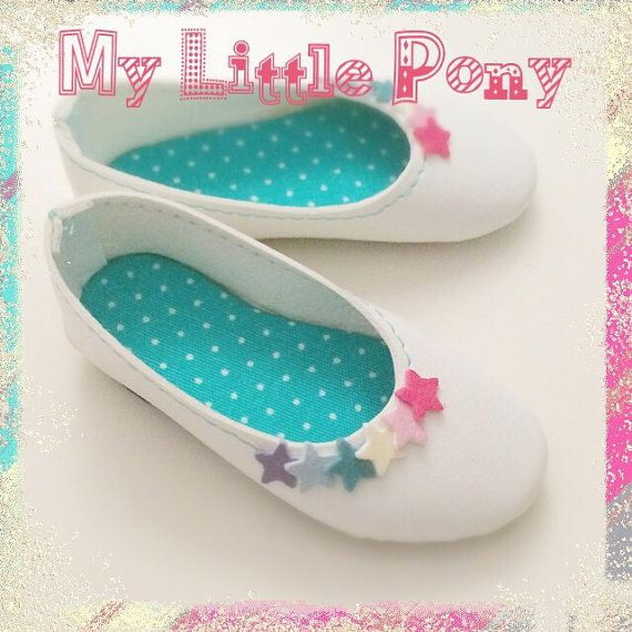 Model My Little Pony. Decorated white shoes for by summomo82