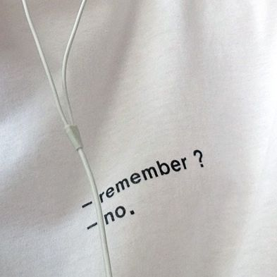 _remember? _no. #white #aesthetic