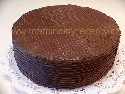 Čoko-smetanová poleva na dort