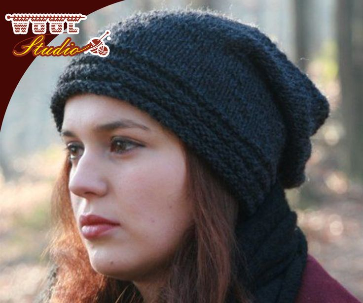 We all have that one morning where our hair just doesn't want to do what it normally does. The best solution is to wear a stylish hat to hide the disaster on your head. Click on the link for the pattern of this gorgeous knitted hat with stripes: http://ablog.link/5E0. #yarnaddicts #TheWoolStudio #pattern #knitting