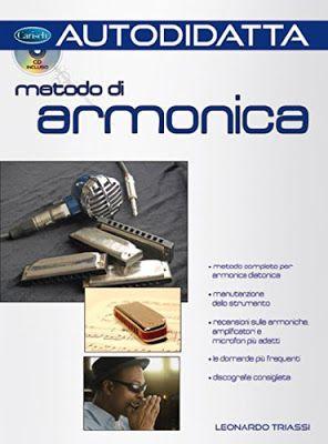 """Copertina del libro """"Metodo di armonica"""""""