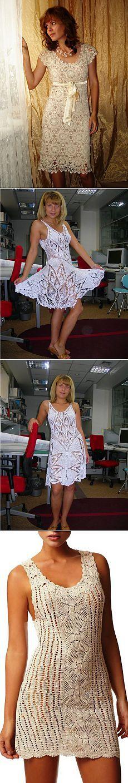 Белые летние платья.