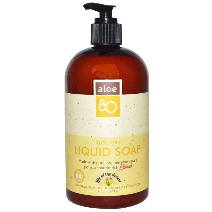 Lily of the Desert, Aloe 80, Aloe Vera Liquid Soap, 16 fl oz (473 ml)