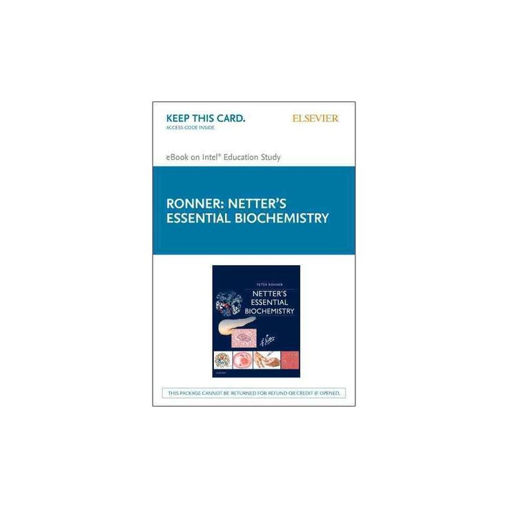 Netter's Essential Biochemistry Elsevier Ebook on Intel Education Study Retail Access Card (Hardcover)