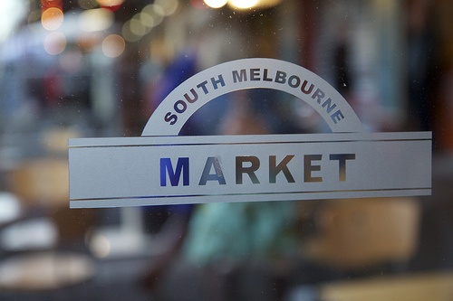South Melbourne Market, Coffee shop near the entrance is the best in Melbourne