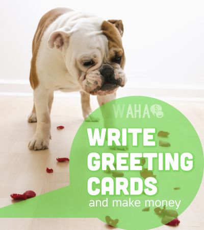 If you can write a witty verse, clever pun or piece of touching prose, you could make money writing greeting card messages.
